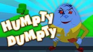 dumpty humpty sentado em uma parede | rimas de berçário | Scary Music | Humpty Dumpty Sat On A Wall