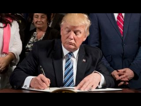 Thumbnail: Trump signs executive order to help clean up the VA