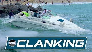 Clanking on the Waves at Haulover Inlet