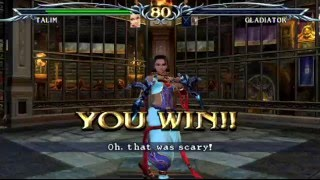 SoulCalibur III (PlayStation 2) Tales of Souls as Talim