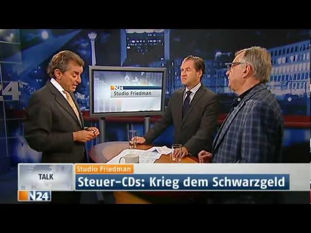 Studio Friedman - Wo bleibt die Steuergerechtigkeit? - Heute um 23:10 Uhr