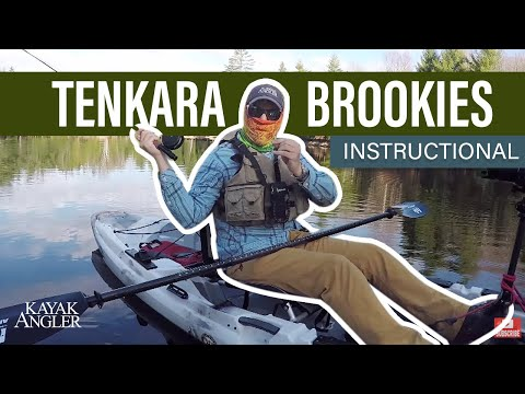 Tenkara Brookies | Hook, Line & Paddle