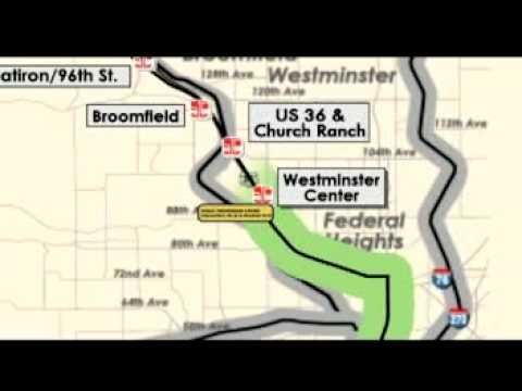 RTD FasTracks US  BRT YouTube - Us 36 bike path map