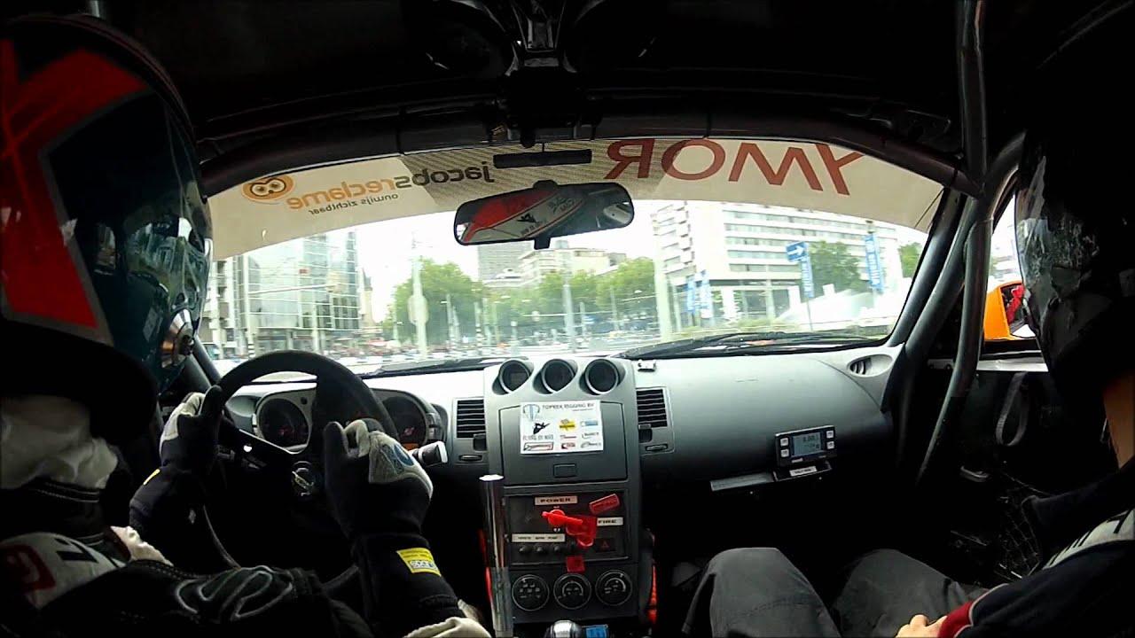 Nissan Garage Rotterdam : Onboard nissan z diter toprek city racing rotterdam youtube