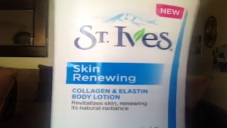 REVIEW - St. Ives Skin Renewing Collagen  - Reverse the Signs of Age - Daily Skin Care Routine