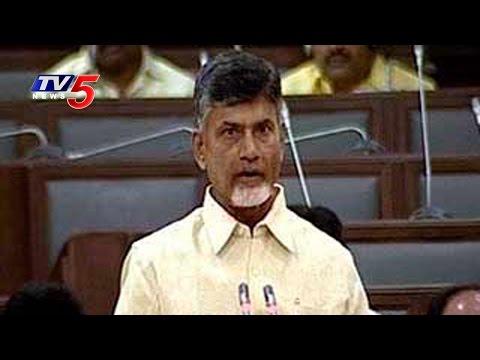Chandrababu Speech On CRDA Bill : TV5 News