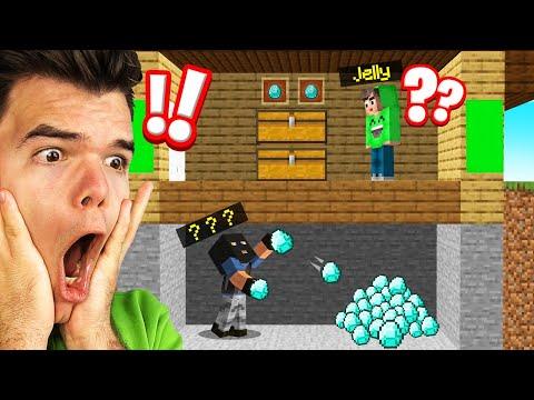 My DIAMONDS Got STOLEN In BEETOWN! (Minecraft)