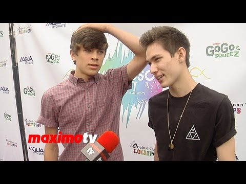 Hayes Grier & Carter Reynolds Interview | VIRTUOSO FEST 2014 | Avalon Hollywood