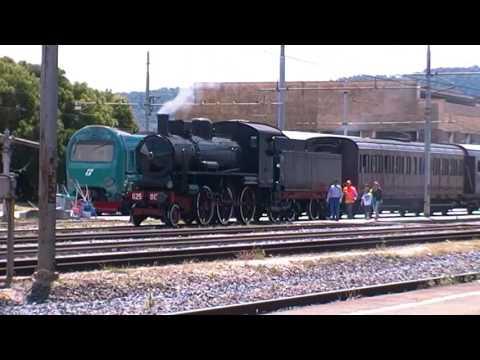 Treno a vapore Roma Tiburtina - Orte (21 Maggio 2017)