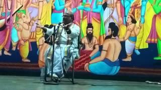 Part7 Sri Krishna Leelalu. Sri Garikipati Narasimha Rao gari pravachanam June 2015