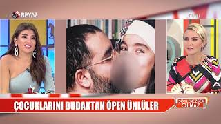 Tuvana Türkay'ın annesini dudağından öpmesi / Kıvanç Tatlıtuğ'un yeni imajı