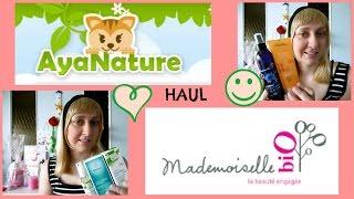 HAUL : AyaNature & Mademoiselle biO