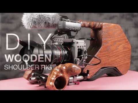 TUTORIAL: DIY wooden shoulder rig