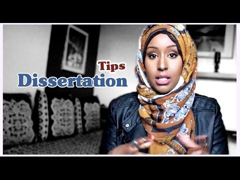 Dissertation Tips