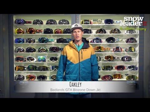 Oakley badlands gore tex biozone down jacket men's