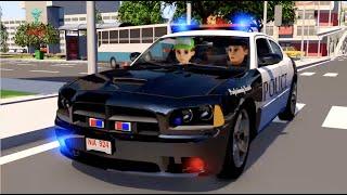 #Shorts. Polizei zeichentrickfilm deutsch. Trickfilme über Polize Car. Kinderfilme Trickfilme.