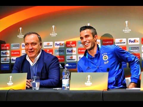 Hilarious! Robin van Persie asks Fenerbahce Coach If He'll Start Vs. Man United