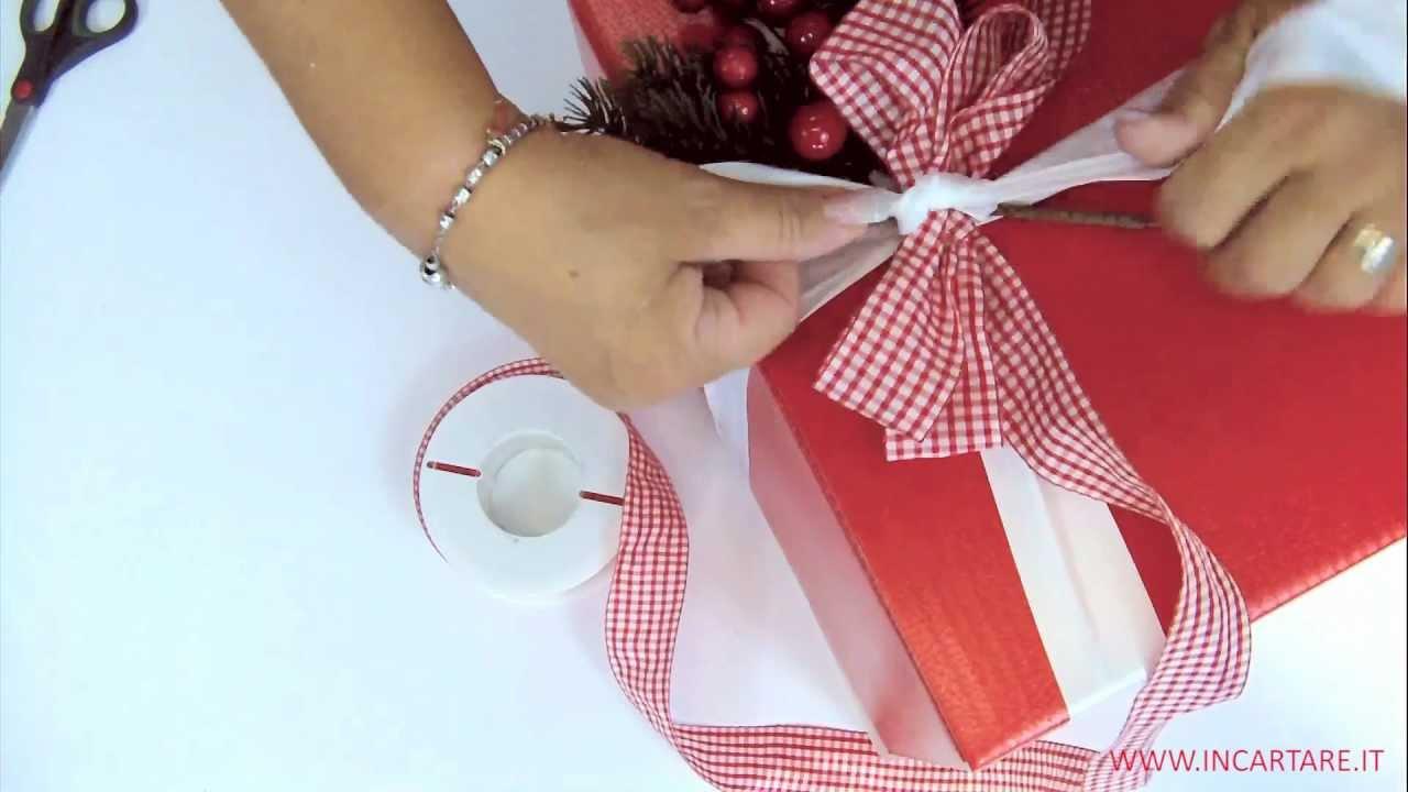Come Fare Pacchetti Natalizi scatola da regalo 2