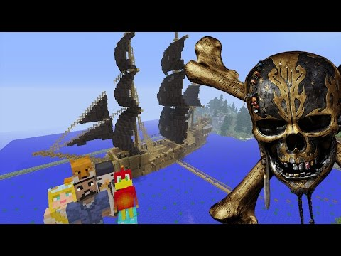 Minecraft XBOX - Hide and Seek - Pirates of The Caribbean 5: Dead Men Tell No Tales