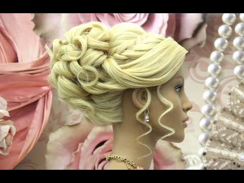 Prom Updo Wedding Hairstyle for Long Hair