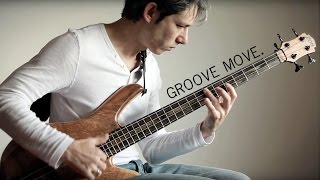 Groove move - Double Thumb slap Bass by Alex Bershadsky
