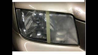 How to restore Headlights CORRECTLY