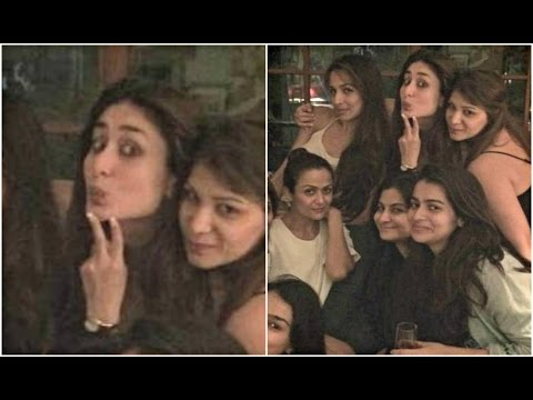 Kareena Kapoor Pout & Poses With Malaika Arora Khan, Amrita Arora, Rhea Kapoor Mp3