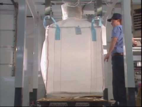 Fibc Bulk Bag Filling Machine Us Systems Youtube