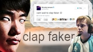 This is what happens when you try to disrespect Faker.. - World Championship 2016