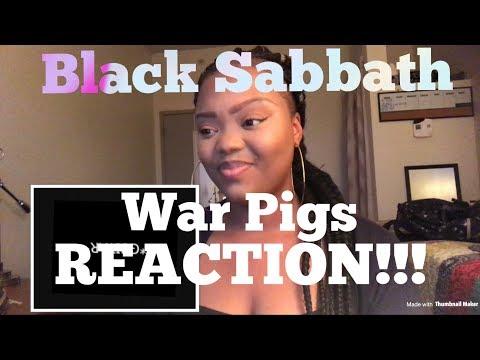 Black Sabbath War Pigs REACTION!!!