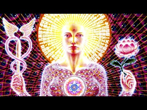EXTREMELY POWERFUL TONES Universal Chakra Music: 8192Hz Slow Trance Drums Ascension Meditation Music
