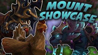 Swifty's NA Alliance AWESOME WoW Mount Showcase Highlights - Legion 7.2.5