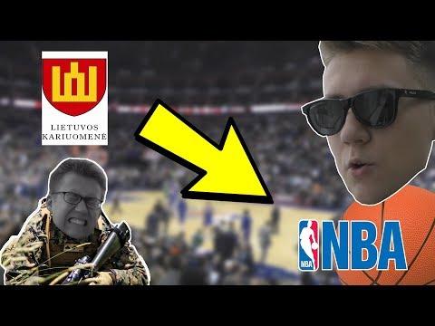 IŠ KARIUOMENĖS Į NBA !!!