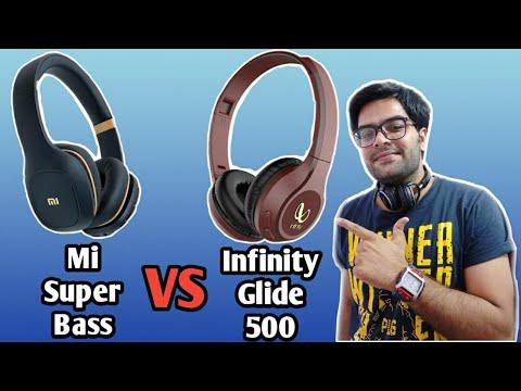 Mi Super Bass VS Infinity (JBL) Glide 500 !! Choose the Best one !! 🎧🎧👊👊
