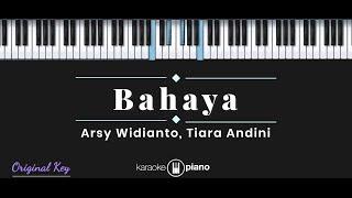 Bahaya Arsy Widianto Tiara Andini Karaoke Piano