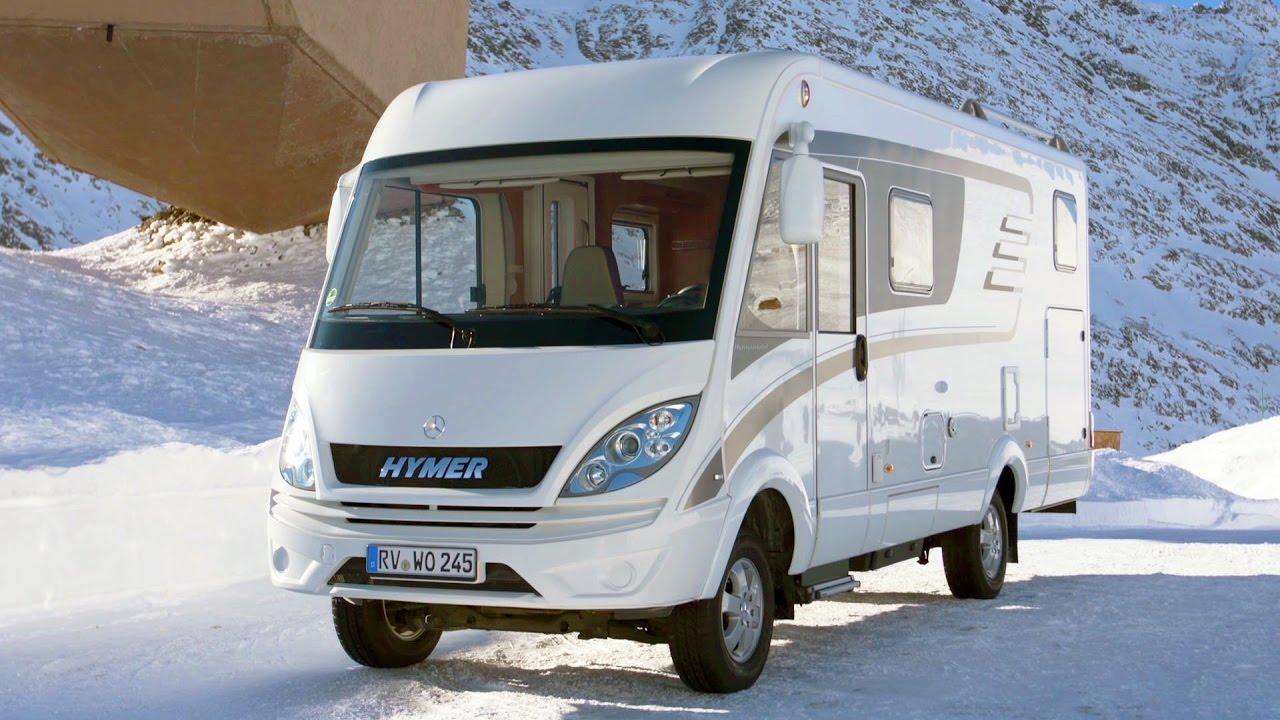 Hymer ML-I 580 based on Mercedes Sprinter 4x4 #hymermobil ...