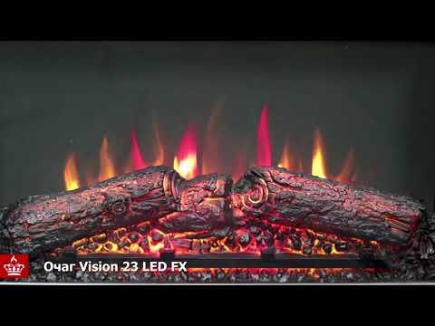 Электрический Очаг Royal Flame Vision 23 LED FX . Видео 1