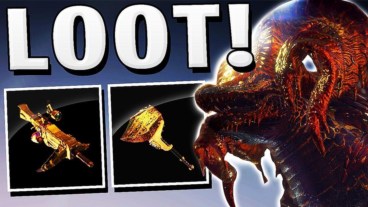 Monster Hunter World - HOW TO KILL KULVE TAROTH EASY & FULL LOOT OMG !!