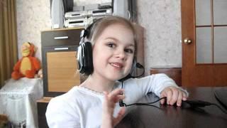 Эмма поёт песню на армянском языке