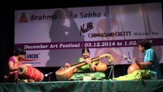 Video Veena Anjani - 20-12-14 [Kripaya pālaya sowrae] Brahmagana Sabha download MP3, 3GP, MP4, WEBM, AVI, FLV Januari 2018