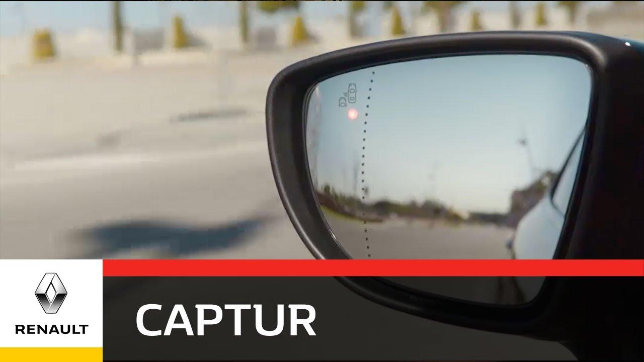 Renault Captur Blindspot Warning Youtube