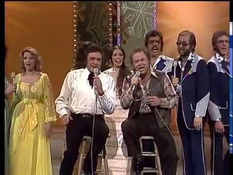 Johnny Cash, Roy Clark, Family and Friends  -  Christmas Medley