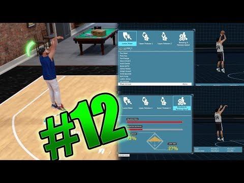 NBA 2k18 MyCAREER - Deadliest Jumpshot 2.0 Creation! Off Day #2 Ep. 12