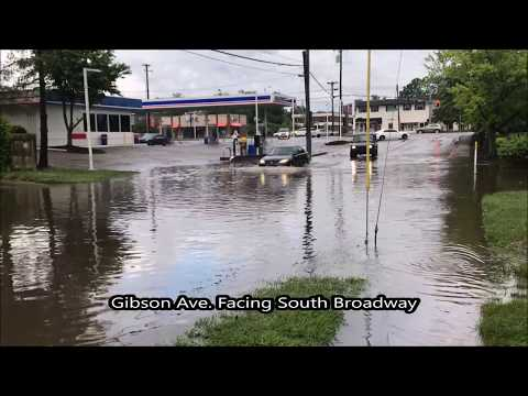 Flooding North Fork of Vaughn's Branch Lexington Fayette County Kentucky May 18, 2018 Storm Event