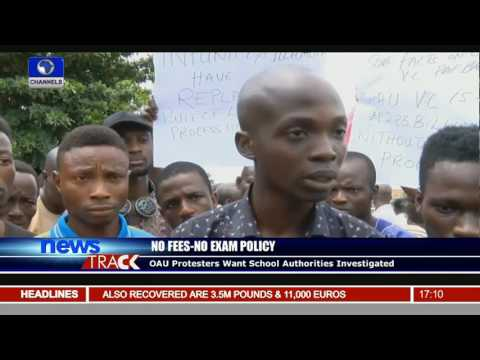 OAU Protesters Want School Authorities Investigated