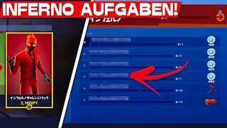 ALL INFERNO TASKS GELEAKED! | Fortnite New Inferno Pack