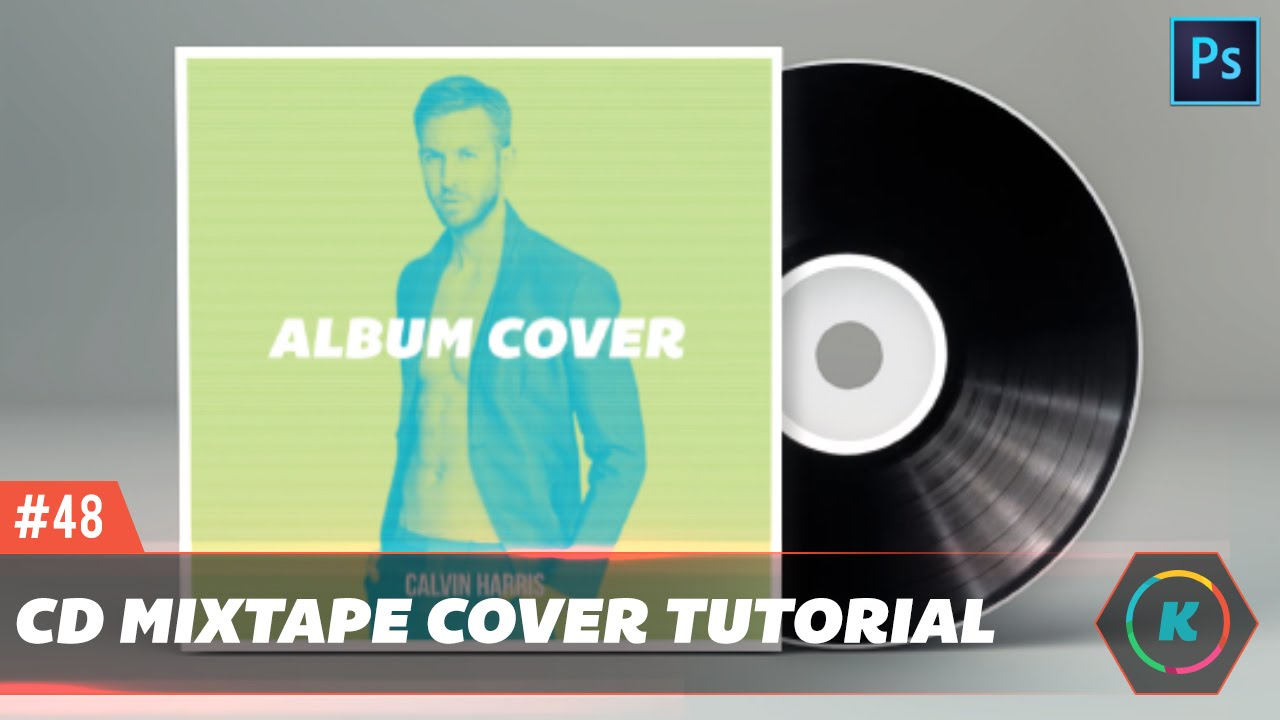 Design A Clean And Professional Mixtape Cd Cover Photo Tutorial You