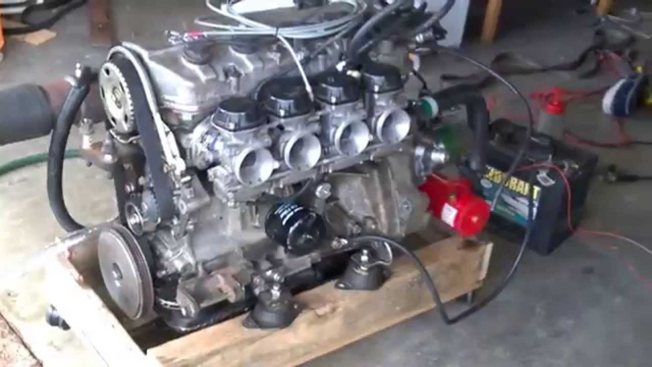 D15b Yzf Carbs With Heat Exchanger