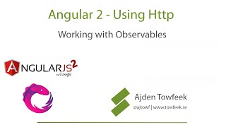 Angular 2 Http - Working with RxJS Observables