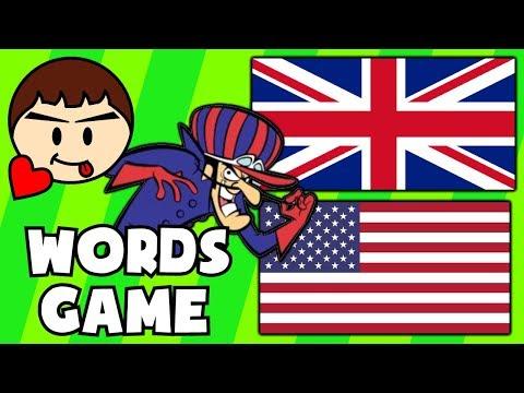 UK Vs. USA - Foreign Words Game (Ft. Chris Desu)